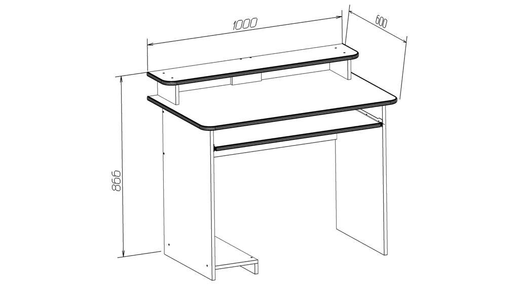 Мебель своими руками компьютерных столов 85