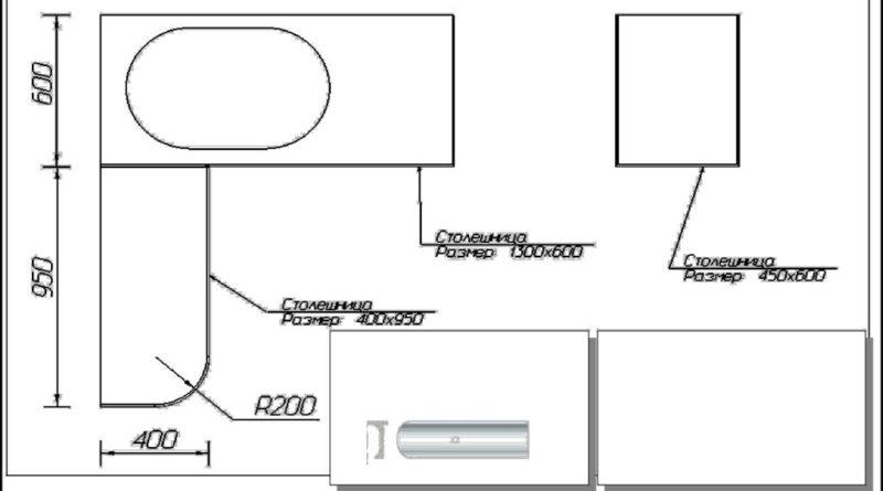 Схема сборки нижних комодов