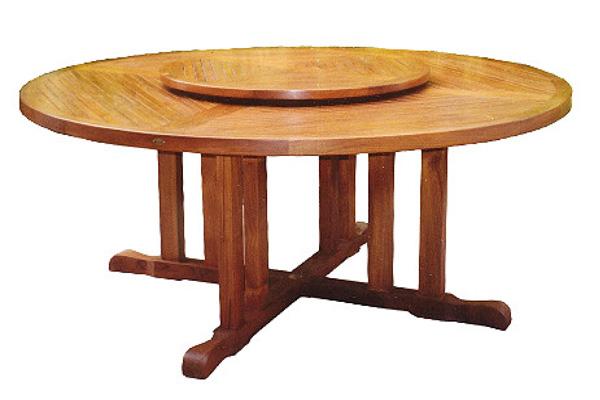 Круглый стол с вращающимся центром своими руками