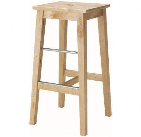 Барный стул из березы
