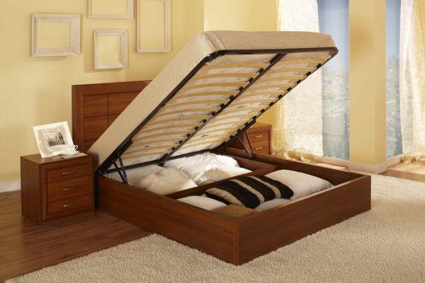 Готовая кровать с подъемным механизмом 160x200 см