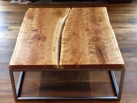 Готовый журнальный столик в стиле лофт