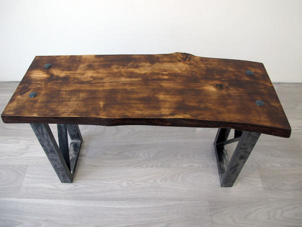Фото стола в стиле лофт