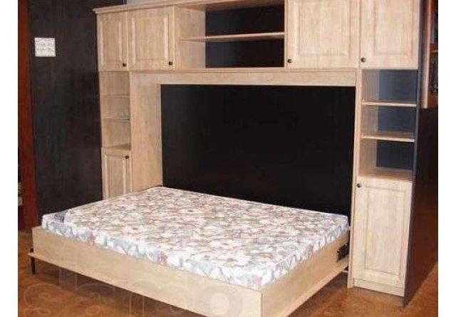 Кровать-шкаф своими руками из ЛДСП