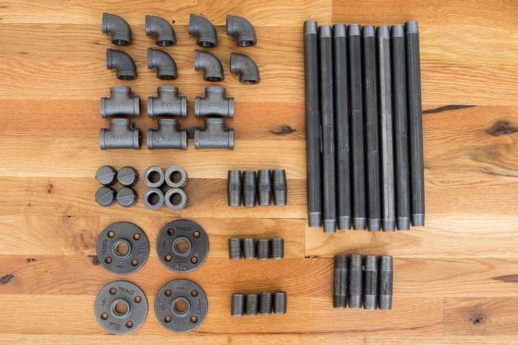 Трубы для сборки барного стула