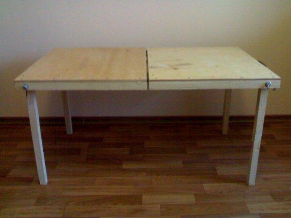 Походный стол, сделанный своими руками